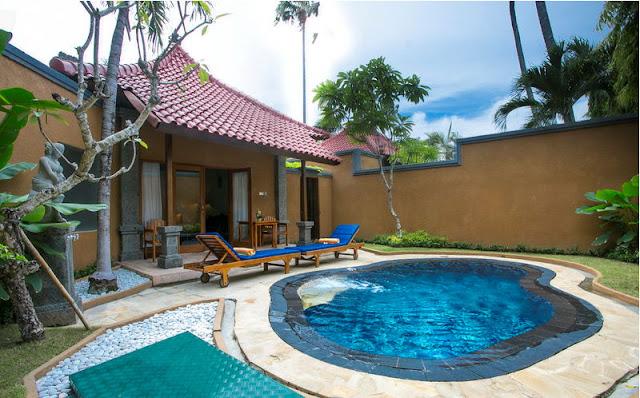 Parigata Resort & Spa Sanur Bali, Pool Villa