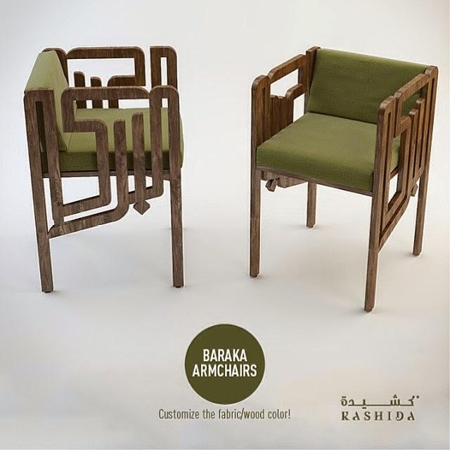 blessing chair avant garde meets arabic