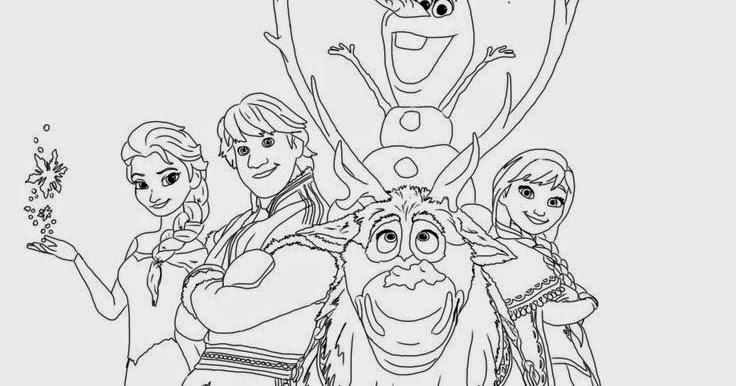 Walt Disney Coloring Pages Frozen : Best beautiful coloring pages frozen ready to print
