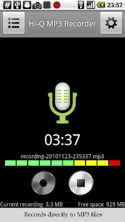 Hi-Q MP3 Recorder for Android