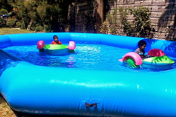 Juego Inflable WATER BOAT Lima Peru