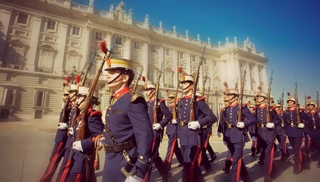 Cambio de guardia Madrid