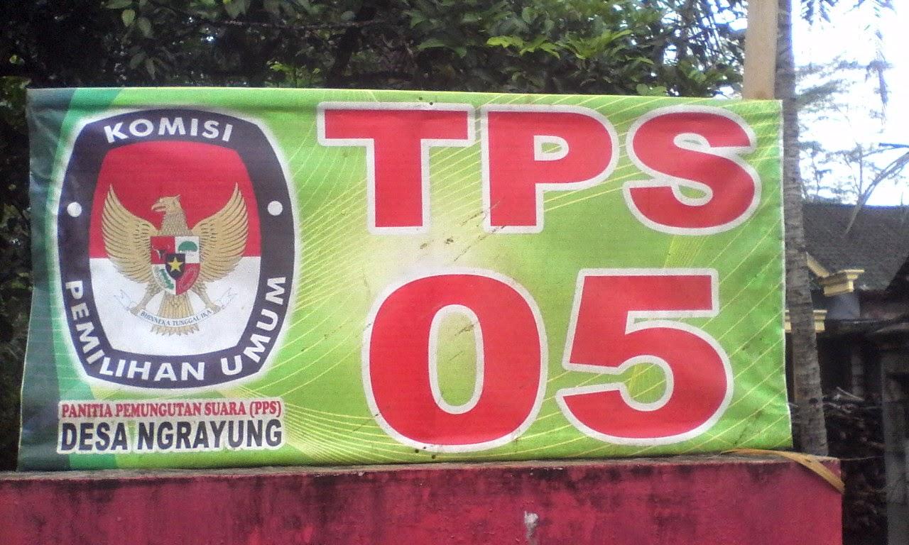 TPS 05 Ds. Nrayung, Kec. Gandusari, Kab. Trenggalek