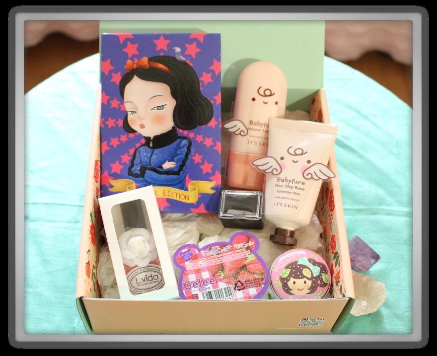 겟잇뷰티박스 by 미미박스 memebox beautybox Collaboration Box #2 CutiePieMarzia unboxing review preview box look inside