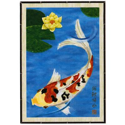 Home decorating news asian garden accessories for Japanese fish flag