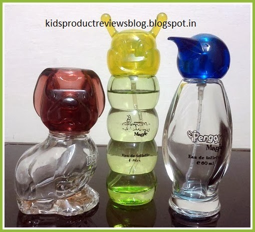 Cute kids perfume bottles
