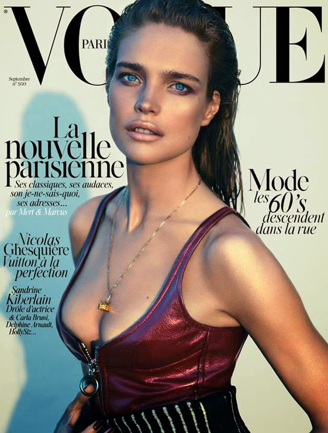 Natalia Vodianova Vogue Paris