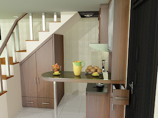 kitchen set, kitchen set murah, finishing hpl, kitchen set modern, kitchen set bawah tangga