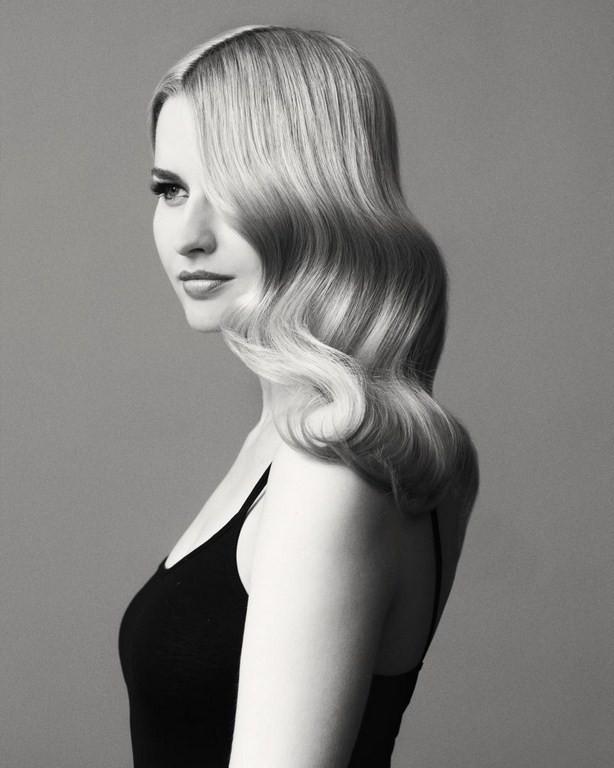 Фото причесок черное и белое