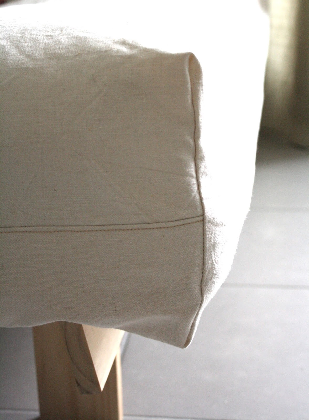Minimille et ses dix doigts housse pour canap futon for Housse pour futon