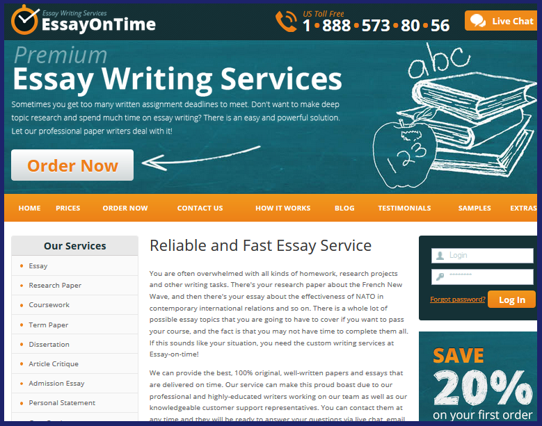 Essay On Time Review