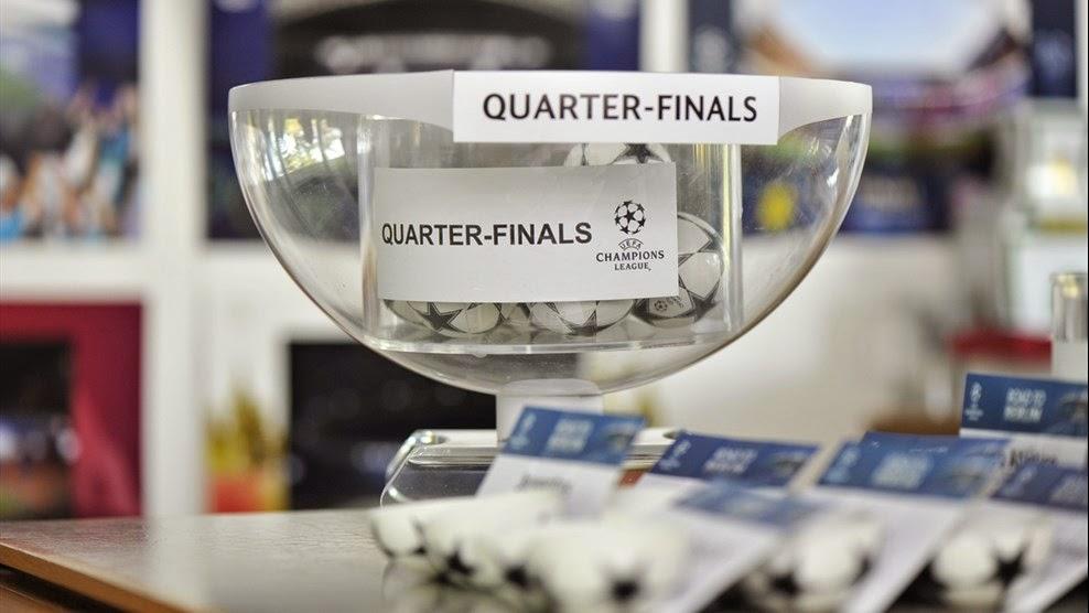Kaiser Sports México: Sorteo de Cuartos de Final de Champions 2014-2015