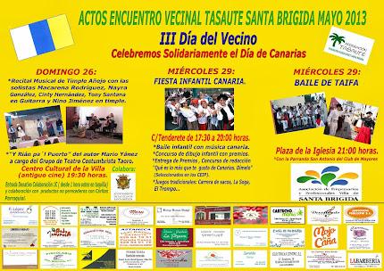 MIERCOLES 29 FIESTA INFANTIL CANARIA Y BAILE DE TAIFA