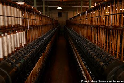 Mark, Marks kommun, Kinna, Skene, Rydal, Rydals museum, fabrik, industri, textilindustri, spinneri, bomullsspinneri, mekaniskt, maskiner, gamla mekaniska