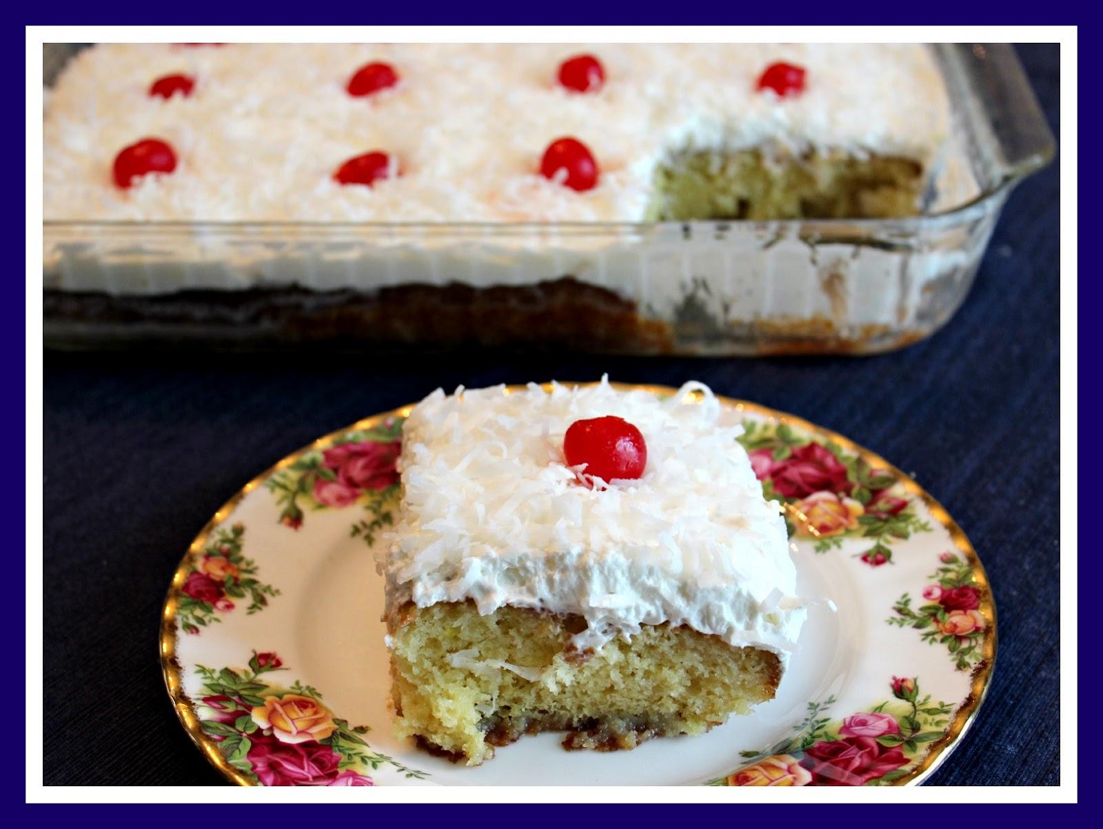Sweet Tea and Cornbread: Coconut Cream Cake!