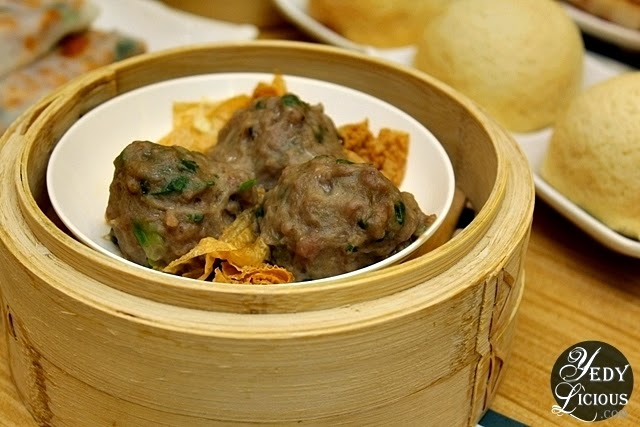 Beef Balls with Bean Curd Skin at Tim Ho Wan Philippines
