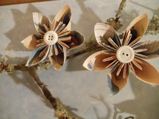 paper crafts tutorial: spring has sprung and unsprung