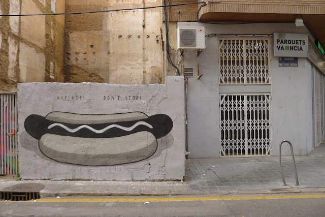 """Fast Food Is Not A Crime"" A New Series Of Pieces by Spanish Artist Escif in Valencia, Spain.2"