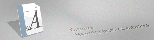 50 Creative Helvetica Inspired Artworks: Posters & Wallpapers