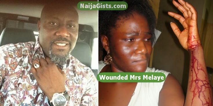 dino melaye wife beater