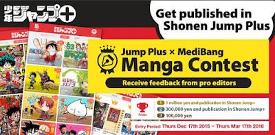 Raih Kesempatan Terbitkan Manga Buatanmu Di Jepang Melalui Kontes Shonen Jump+ International