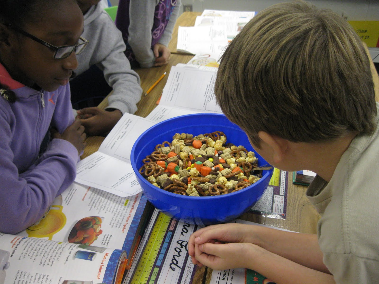 Third Grade Thinkers Scarecrow Crunch And Pumpkin Punch A Science
