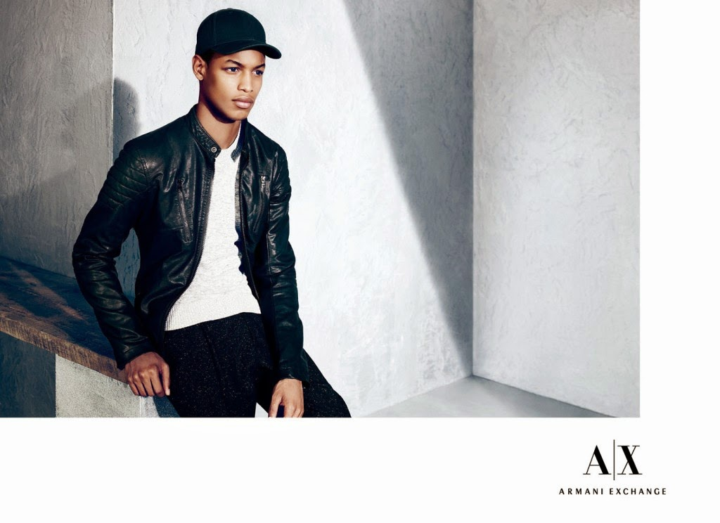 Armani Exchange Holiday 2014 Lookbook