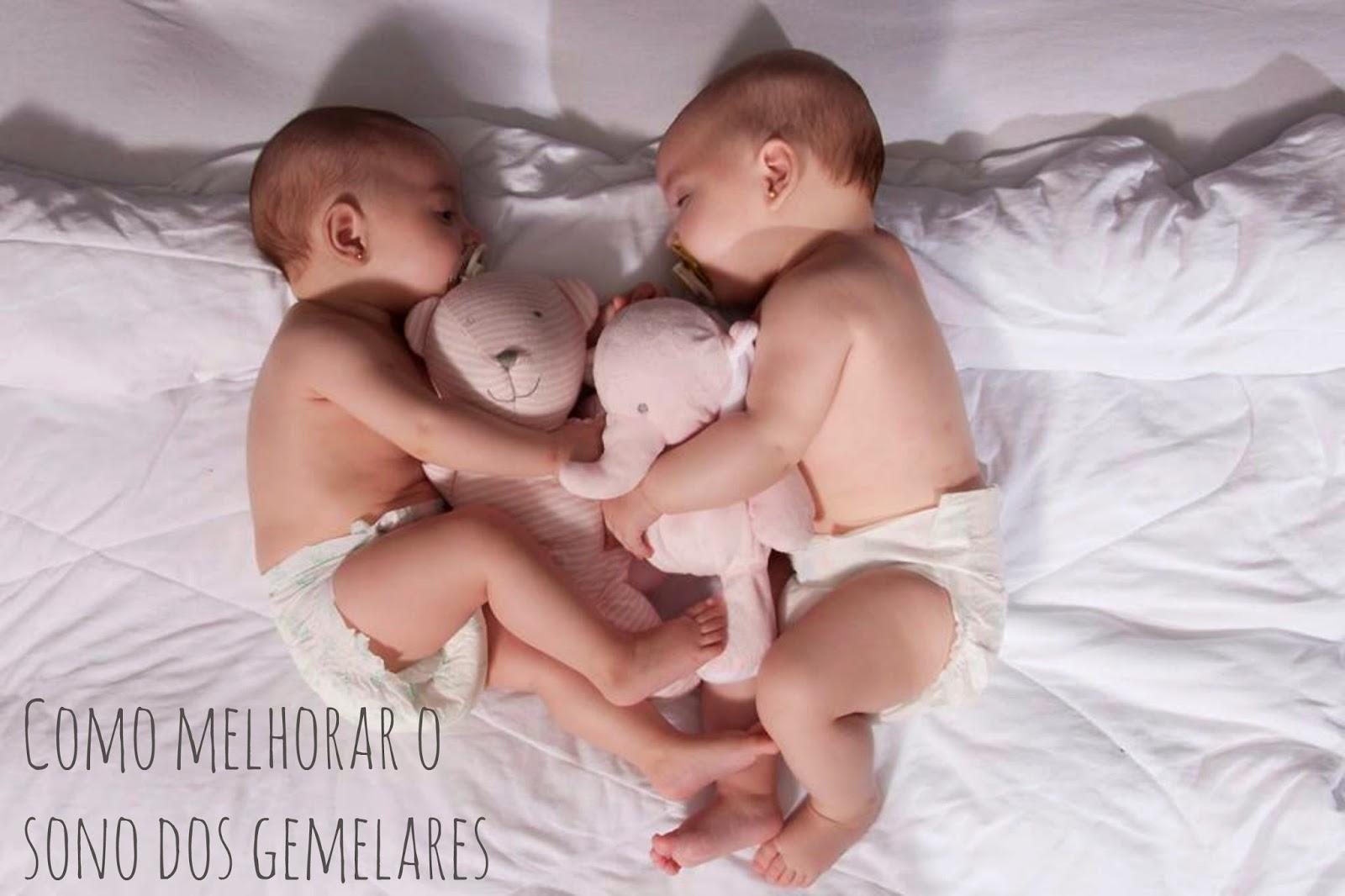 Como melhorar o sono dos gemelares