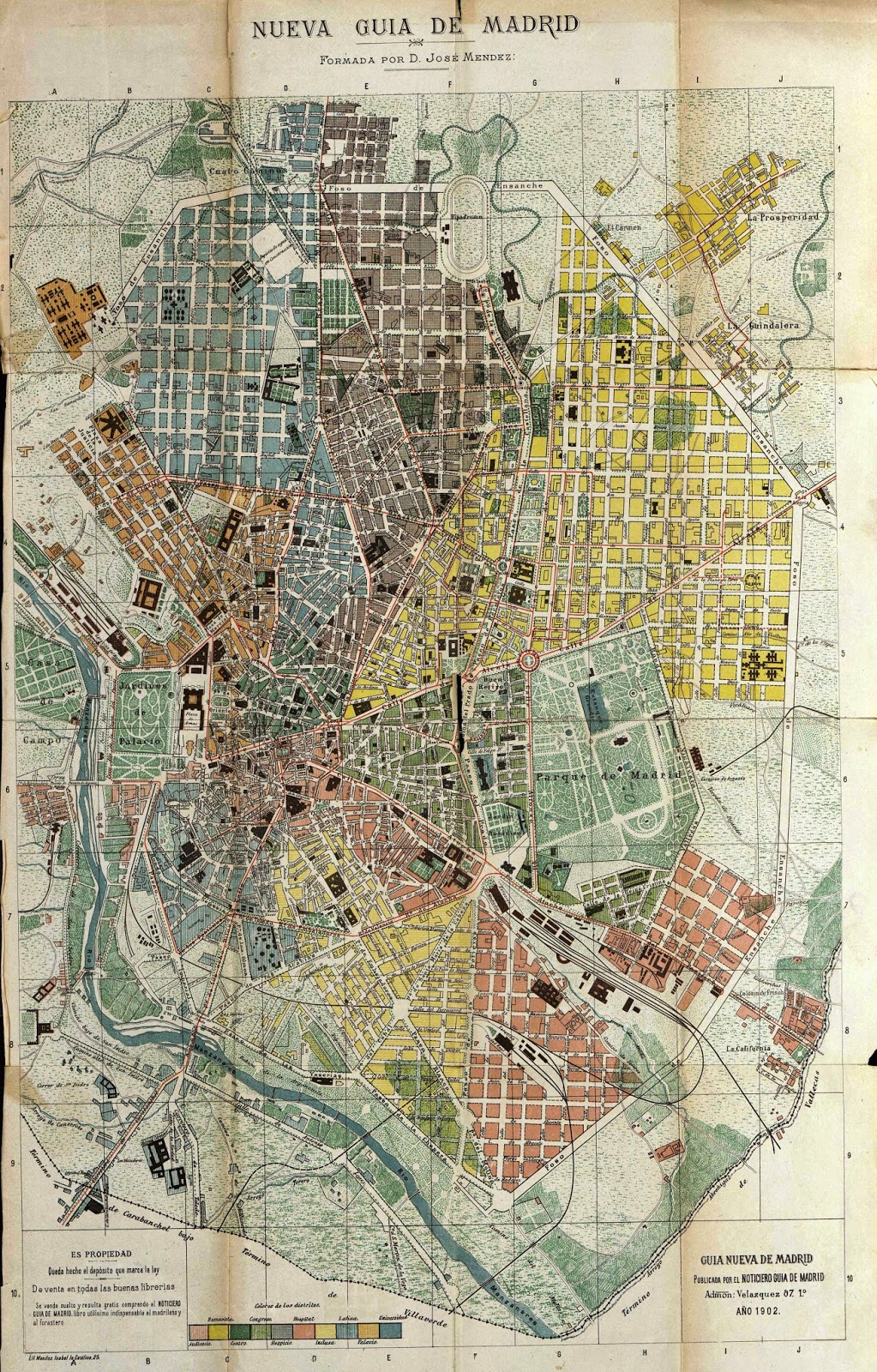 Historia Arte Y Geo Planos Gu As De Madrid Principios