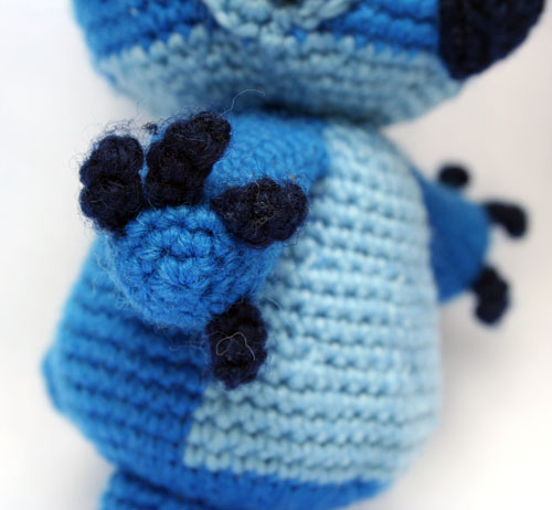 Zampe Stitch amigurumi
