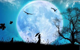 #9 Full Moon Wallpaper