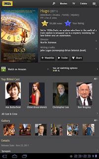 IMDb Cine & TV, localiza tus películas favoritas