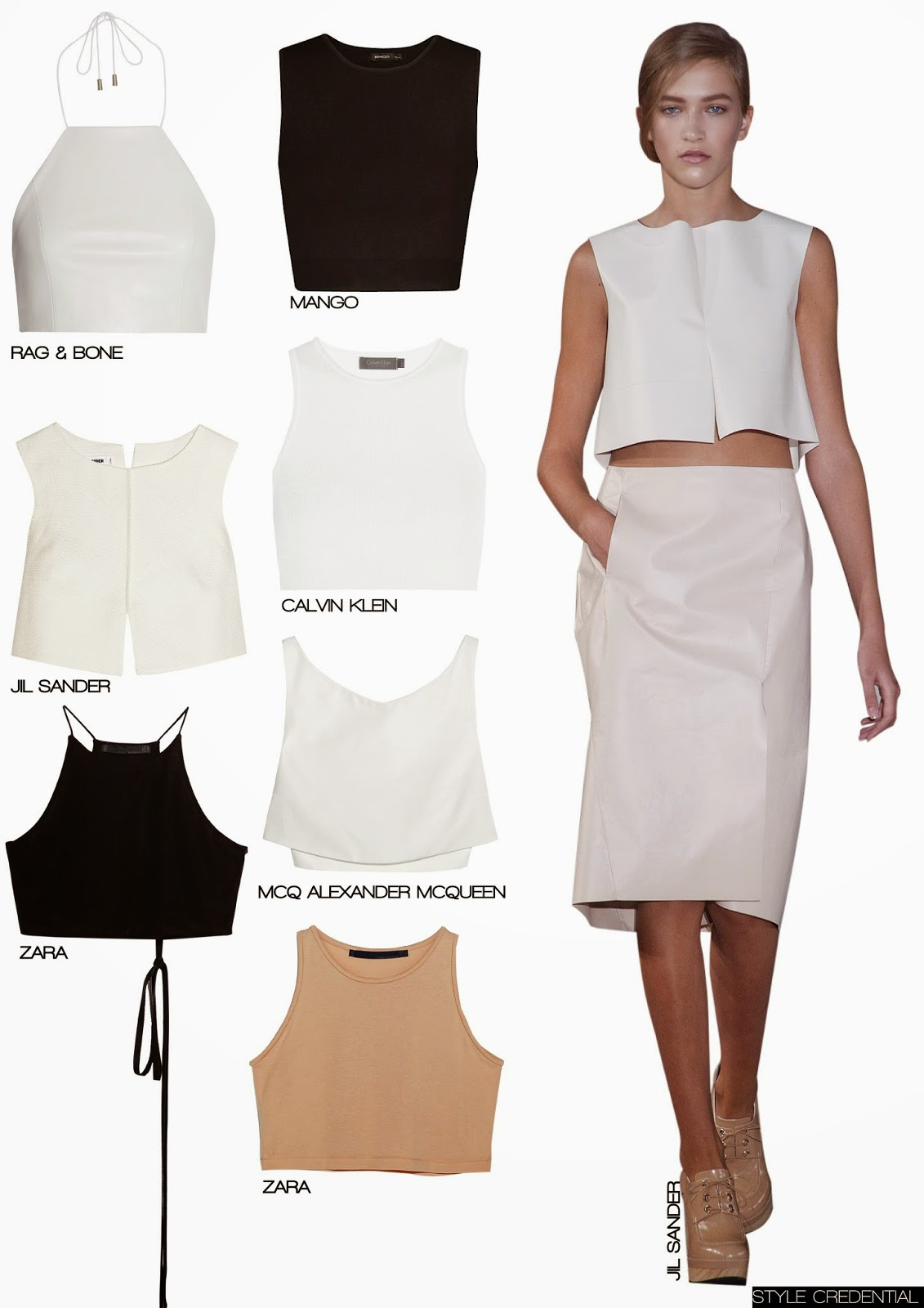 CROPPED TOP TREND