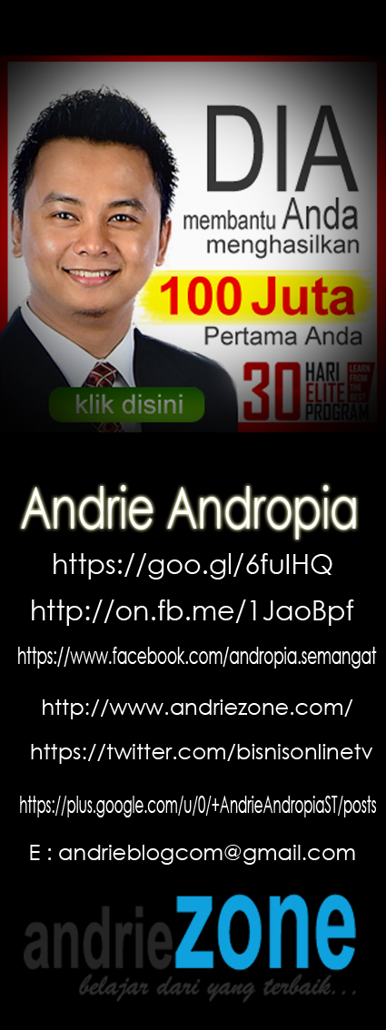 LET'S GO JOIN WITH ANDRIE ANDROPIA