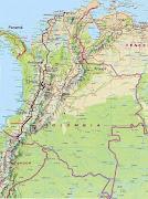 Mapa división político - administrativa de Colombia mapa politico de colombia