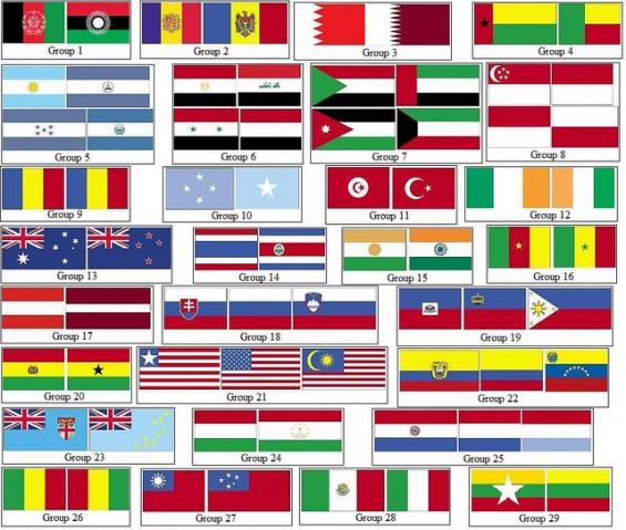 Adakah disebabkan bendera malaysia sama seperti bendera usa bendera