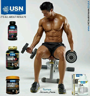 Jacques Fagan South african usn sponsored fitness model