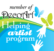 Helping Artist For DecoArt!
