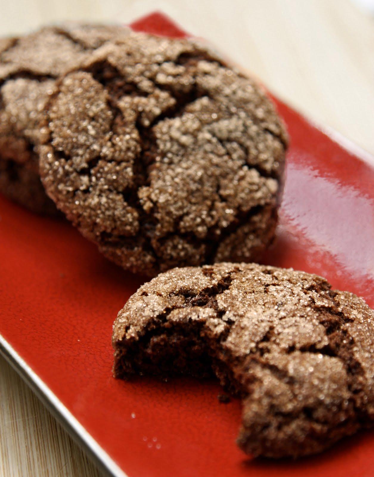 hanna's vegan kitchen: spicy, chewy ginger cookies