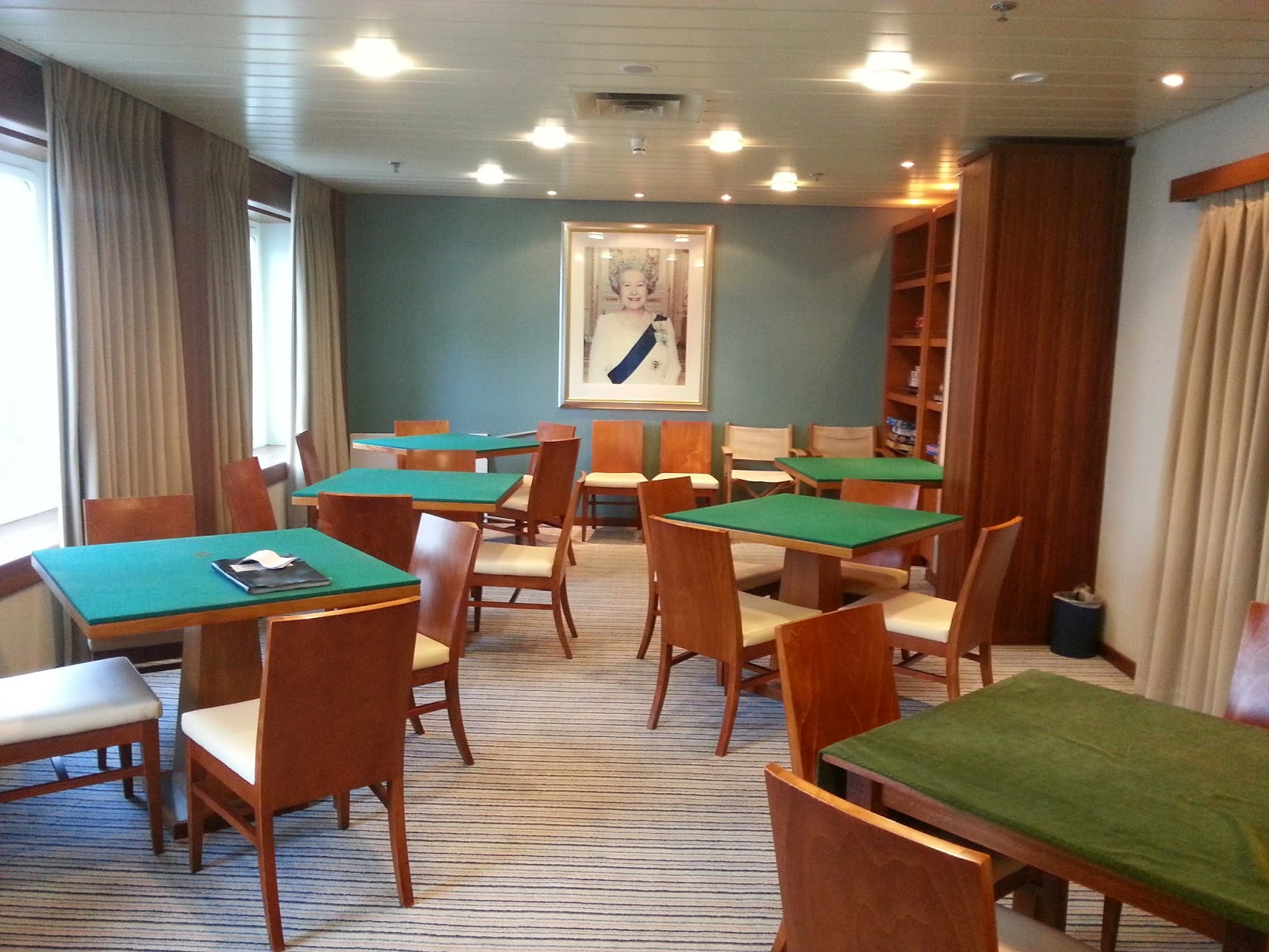 Cruise Ship Saga Pearl II - Card Room