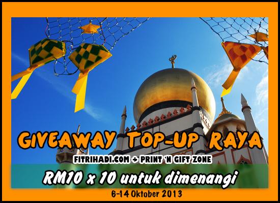 giveaway topap raya