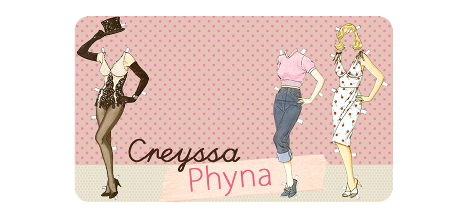Creyssa Phyna - Glamour, ruivice e sacolagem