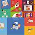 Pack de vectores sobre negocios y tecnología