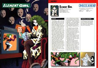 Chica Elemento (ficha dc comics)