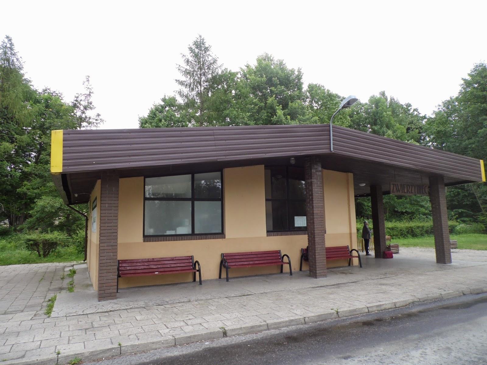 Dworzec autobusowy w Zwierzyńcu