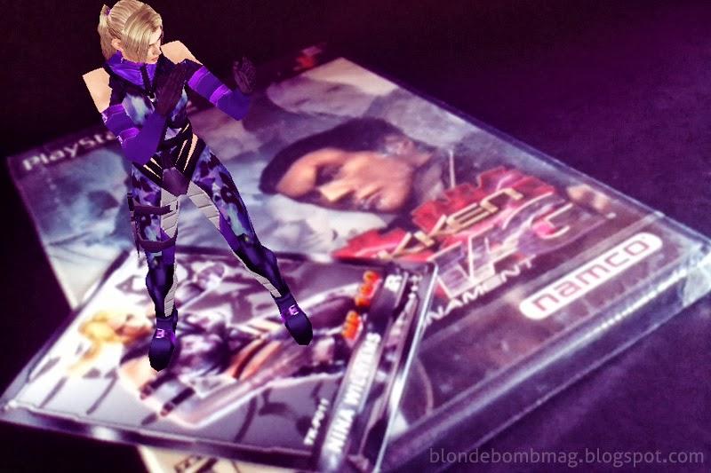 TCT Tekken Card Nina Super Rare