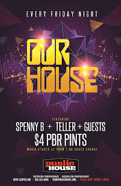 Every Friday @The Public House Its Our House 10765 Jasper Ave