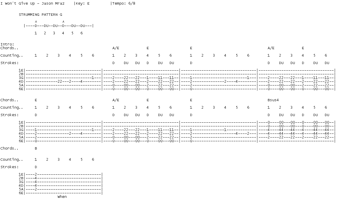 Talkingchord jason mraz i wont give up cover chords jason mraz i wont give up cover chords hexwebz Images