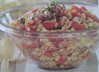 Салат с кукурузой Вернисаж