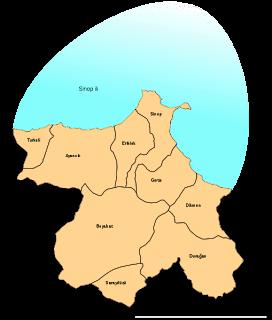 Sinop İlçe Haritası